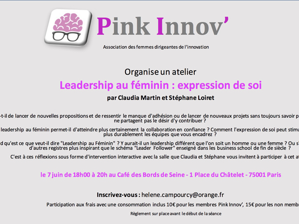 Leadership au féminin : expression de soi