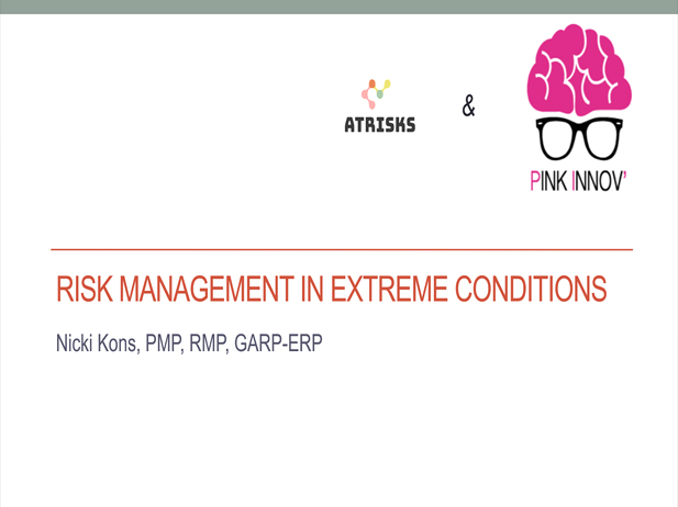 Webinar Risk and Recovery Management Pink Innov