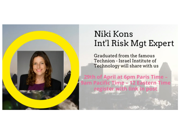 Israël – Paris Webinar Risk and Recovery Management